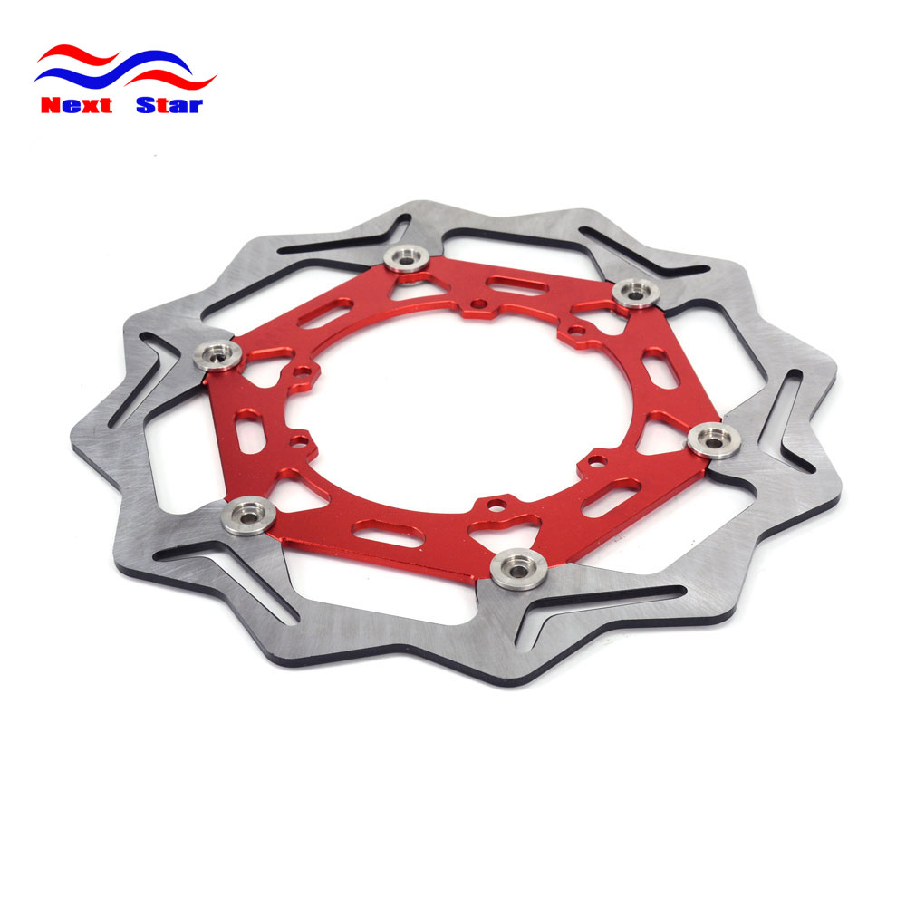 270MM Front Floating Brake Disc Rotor For HONDA CRF250R CRF250X CRF450R CRF ENDURO 230 Model Year Motorcycle Enduro Dirt Bike for honda crf 250r 450r 2004 2006 crf 250x 450x 2004 2015 red motorcycle dirt bike off road cnc pivot brake clutch lever