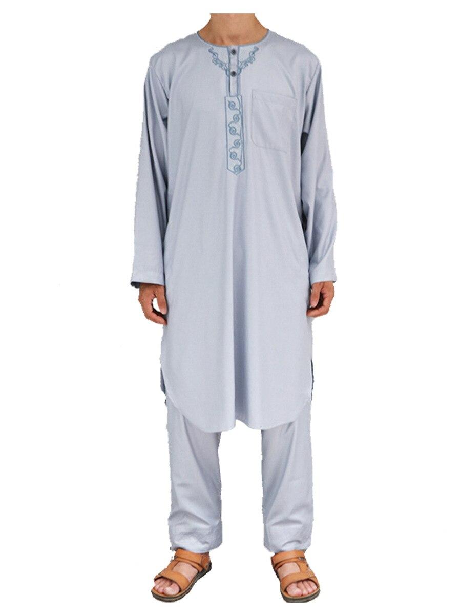 SALE Moslem Morocco thobe Cotton linen two piece dress Muslem Arabia robe Muslim men s clothing