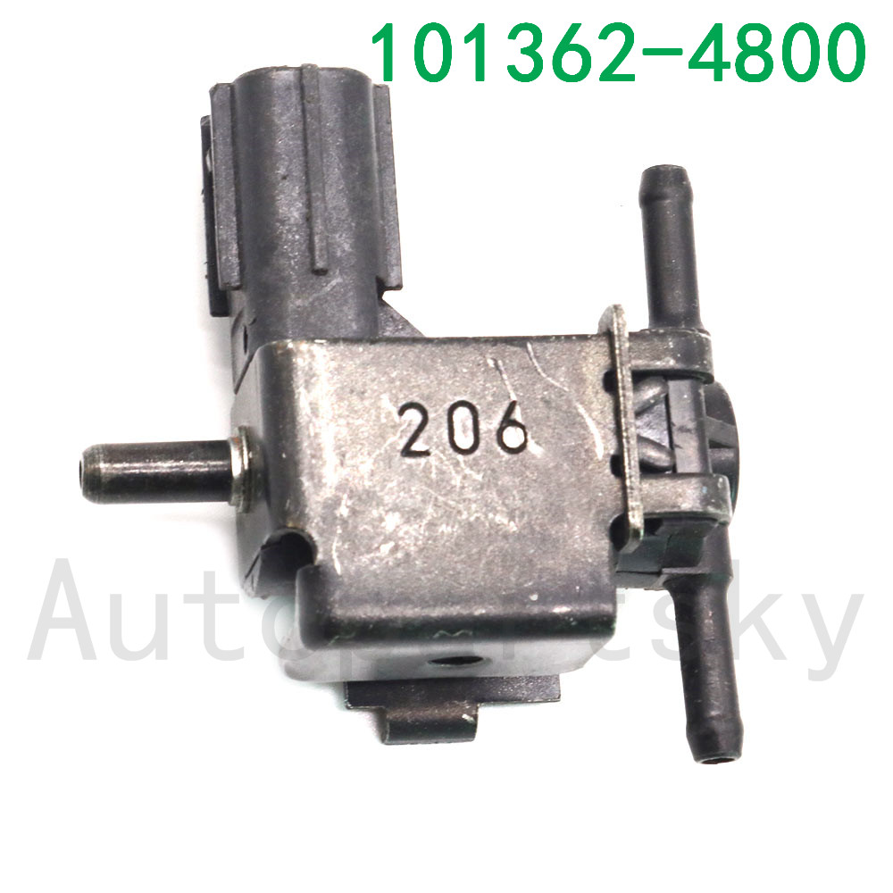 1PCS OEM <font><b>101362</b></font>-4800 , 1013624800 , <font><b>101362</b></font> 4800 Good Quality Solenoid Valve Reversing Valve For Honda Civic VIII Hatchback image