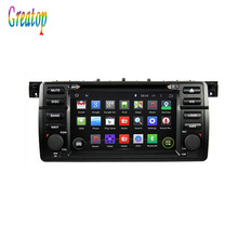 ROM 16G Quad Core 1024*600 Android 5.1 Fit BMW E46 M3 1998 – 2000 2001 2002 2003 2004 2005 Car DVD Player GPS Radio Bluetooth
