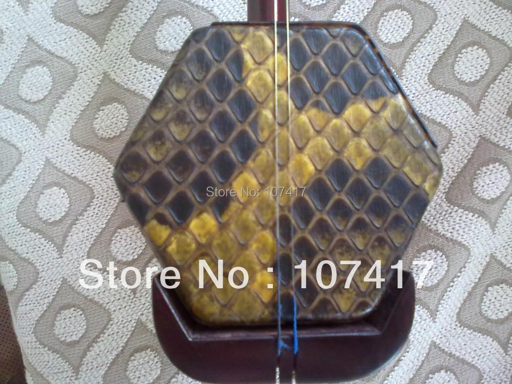 2017. évi Lobular Red Sandalwood Erhu Instrument esetek Qintong Not - Hangszerek