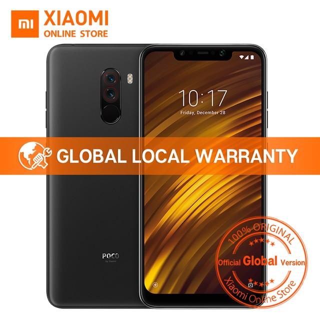 "Global Version Xiaomi POCOPHONE F1 POCO F1 6GB 64GB Snapdragon 845 6.18"" Full Screen AI Dual Camera 4000mAh Smartphone"
