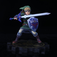 High Quality Anime The Legend Of Zelda Link 1 7 20cm Action Figure Toys Without Retail