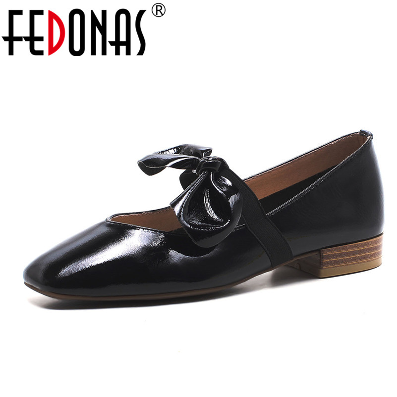 FEDONAS Spring Autumn Women Genuine Leather Loafers 2018 Fashion Mary Jane Flats Wedding Party Shoes Woman Comfort Boat Shoes цена 2017
