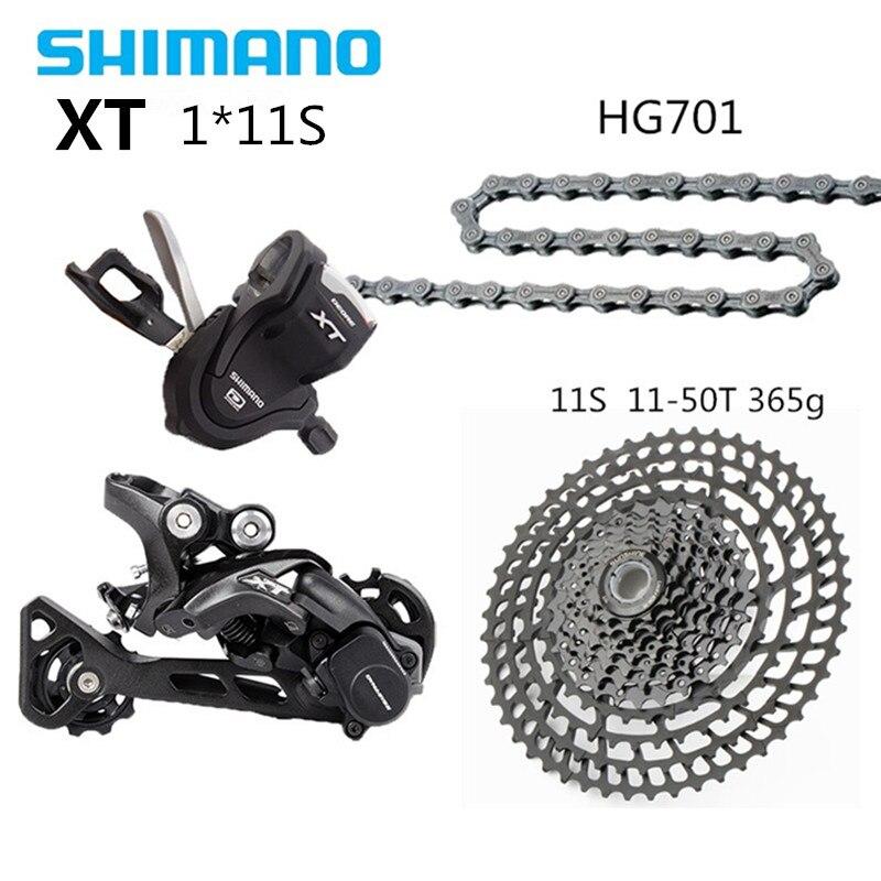 SHIMANO DEORE XT M8000 groupe vtt VTT 1x11-Speed 50 T SL + RD + SUNSHINE 11-50 T + HG701 M8000 manette de vitesse dérailleur arrière