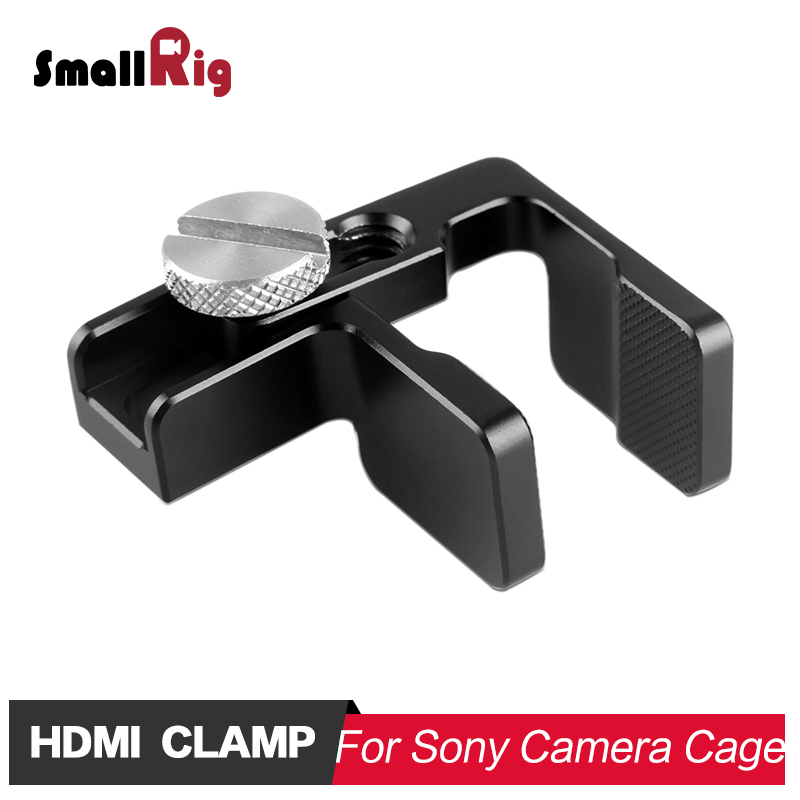 SmallRig HDMI Cable Clamp for SmallRig A7 Series cage 1620 1633 , A6000 A6300 A6500 Camera Cage 1661 1889 GH5 Cage 2049