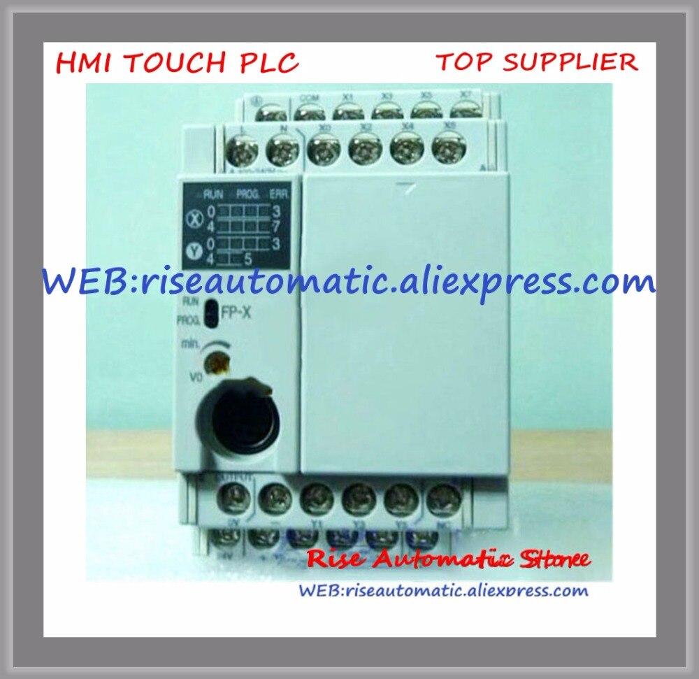 AFPX-C14T PLC New Original AC100-240V 8 DC input points 6 NPN output points FP-X Control UnitAFPX-C14T PLC New Original AC100-240V 8 DC input points 6 NPN output points FP-X Control Unit