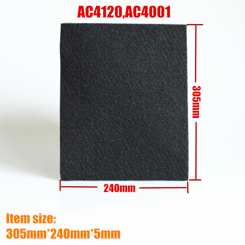 1PCS Air Purifier Parts HEPA Filter Activated Carbon Filter replacement for philips AC4120,AC4001 adaptation for sanyo air purifier parts abc vw24 dust hepa filter abc fah94