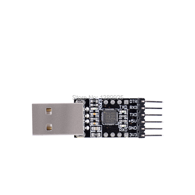 CP2102 USB 2.0 To TTL UART Module 6Pin Serial Converter STC Replace FT232 Module