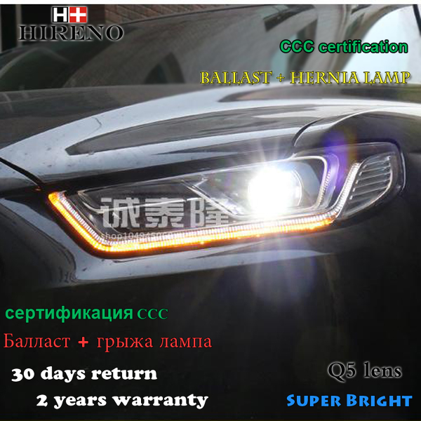 Hireno Car styling Headlamp for 2015-2016 Ford Taurus Headlight Assembly LED DRL Angel Lens Double Beam HID Xenon 2pcs быстрый старт беглый французский язык книга dvd