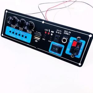 Image 4 - Altoparlante senza fili di Bluetooth Audio Ricevitore 50W amplificatore di Potenza Digitale Consiglio subwoofer microfono Riverbero 7.4V batteria al litio
