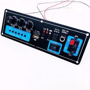 Image 4 - Wireless Speaker Bluetooth Audio Receiver 50W Digital Power amplifier Board subwoofer microphone Reverb 7.4V lithium battery
