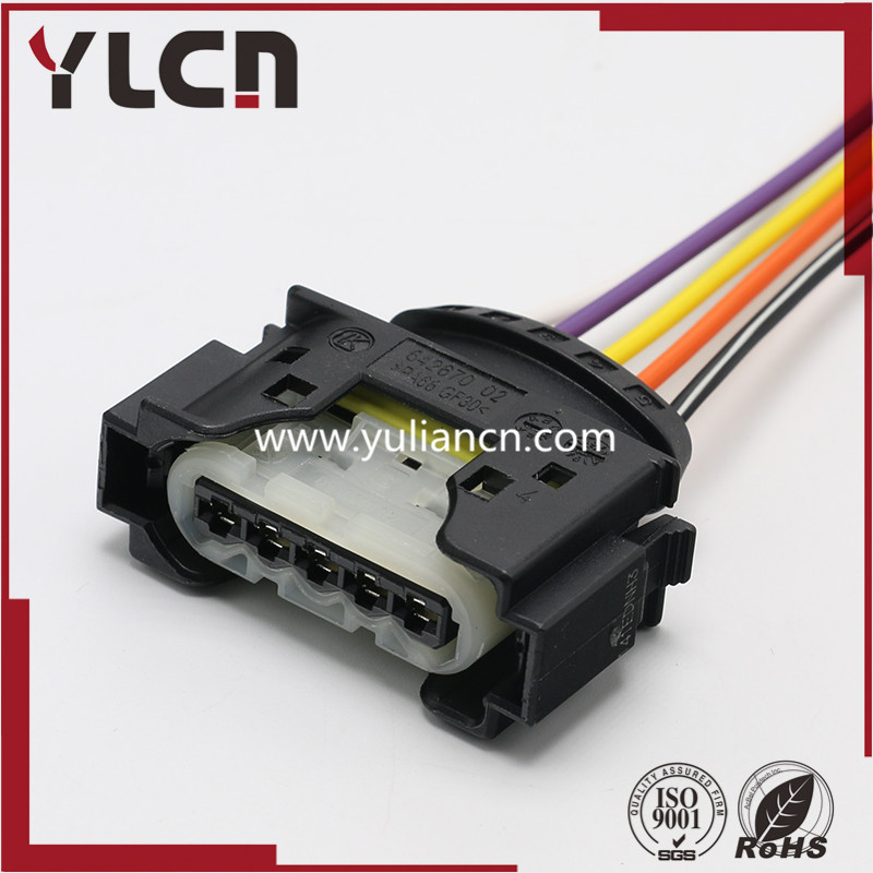 High Quality auto 5pin auto plastic housing sensor plug electric wiring cable harness connector 09 4415 52High Quality auto 5pin auto plastic housing sensor plug electric wiring cable harness connector 09 4415 52