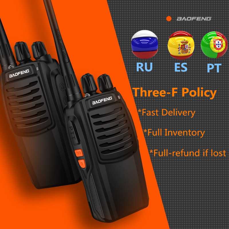 Image 2 - 4pcs Baofeng BF 888S Walkie Talkie UHF 5W 400 470MHz Handheld Two Way Radio hf FM Transceiver Comunicador Ham CB Radios BF 888s-in Walkie Talkie from Cellphones & Telecommunications