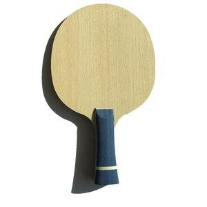 Горизонтальная ручка длинная ручка ракетка для настольного тенниса только лезвие 5 слоев дерева с 2 слоями арилата Углеродные ракетки для п...