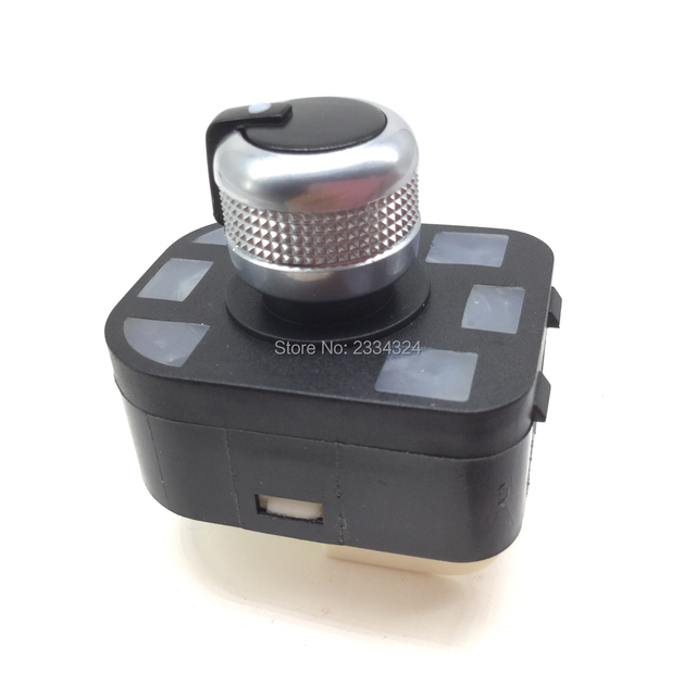Cromo lado espejo retrovisor interruptor de Control de mando para AUDI A1 A2 A3 A4 S4 B6 A6 S6 A8 R8 q7 R8 TT 4F0959565A 4FD959565A