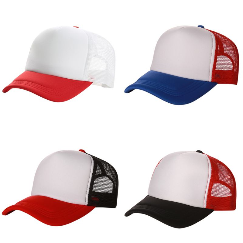 2017 New Mesh Baseball Caps Adult men and women Tourism Outdoors Hats Sport Adjustable Caps 9282