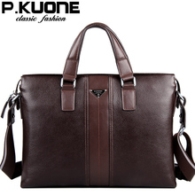 Genuine leather man bag leather cross-body bag business bag handbag first layer of cowhide male lather-bag commercial