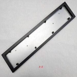 Image 3 - 1 Pcs Car License Plate Frame Metal Frame License Plate Holder Number Plate Holder Fit EU Vehicles Standard Car Styling