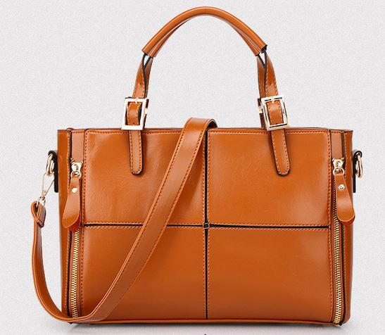 ФОТО Hot Sale 2017 New Patchwork Top-handle Bags Ladies Plaid Shoulder Strap Bag Split Leather Women Messenger Bags Vintage Tote B037