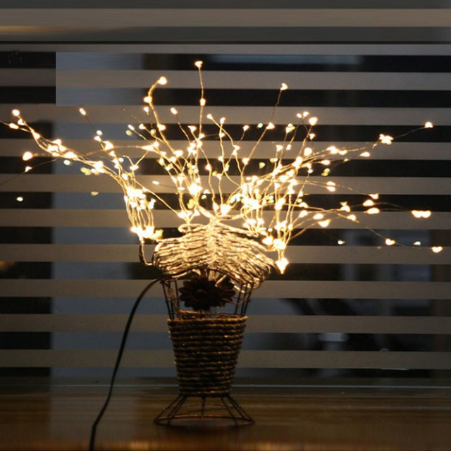 2m 10m 5m led 3aa battery operated copper wire colorful tiny string fairy light for christmas