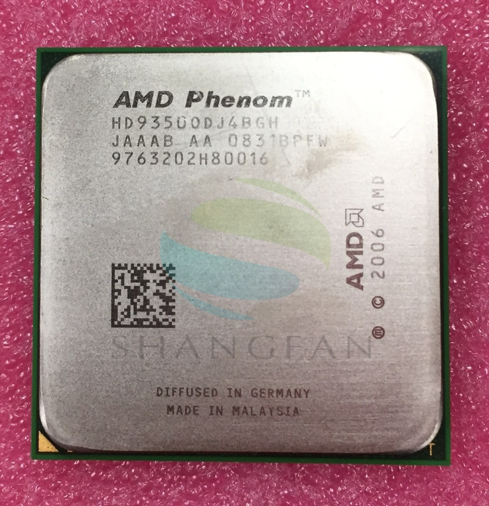 AMD Phenom X4 9350 X4 9350e Quad-Core DeskTop 2GHz מעבד HD9350ODJ4BGHSocket AM2 + / 940pin