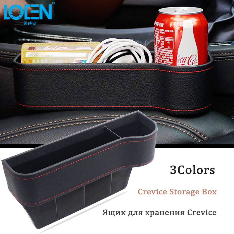 Hot Car Seat Crevice Storage Box Gap Slit Pocket Organizer Catcher Super Stowing Tidying Cup Drink Phone Holder auto accessories