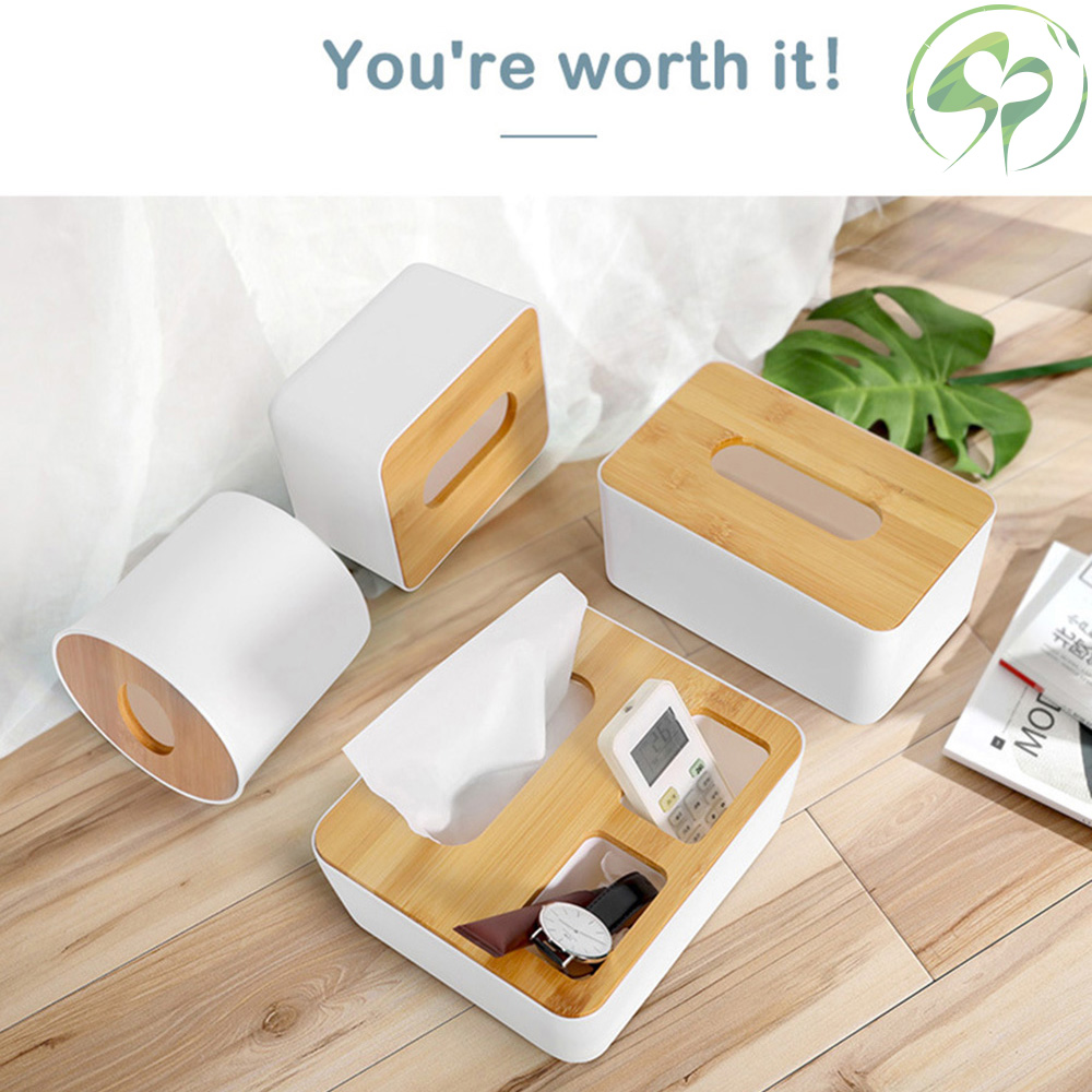 Modern Style Wet Tissue Rack Tissue Box Storage Box with Dust Cover for Home Office Use for Home Kitchen Bathroom Supplies