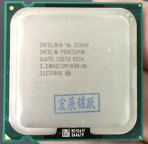 PC computer Intel Pentium Processor E5800 Dual-Core CPU LGA 775 100% working properly Desktop Processor