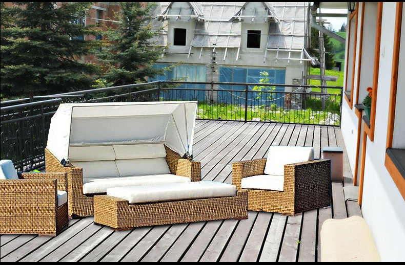 garden furniture royal rattan sofa furniture purchasing agent China buying agent