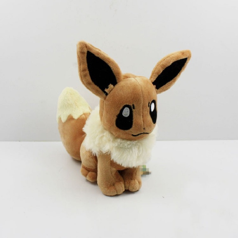 Hot 15cm Kawaii Eevee Plush Toys Soft Stuffed Animal Doll with Tag Kids Toys [zob] supply of new original omron omron button switch a165s j3m 2 2pcs lot