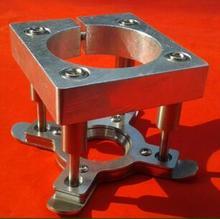 Гравировальный станок шпинделя автоматическая валик управления, CNC плиты зажим diy аксессуары 85 мм кронштейн, акриловые панели кронштейн 85 мм