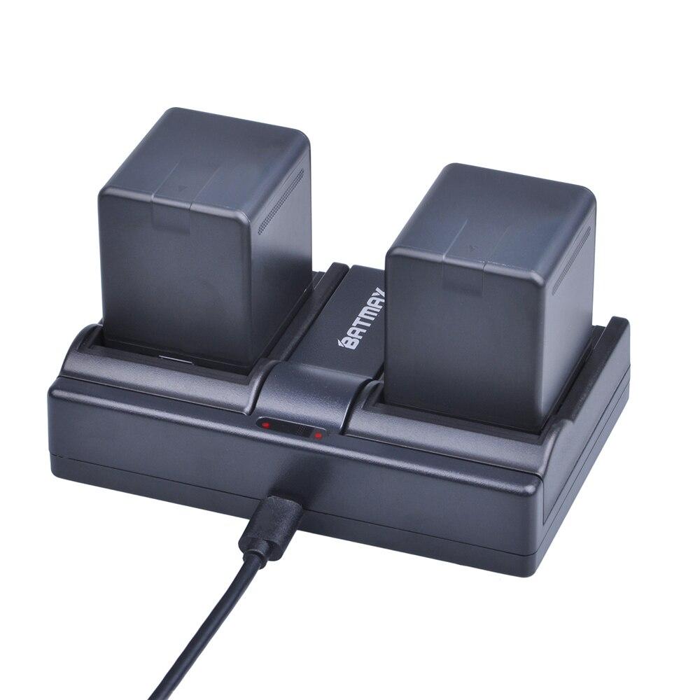 2Pcs 2500mAh VW VBN260 VBN260 Battery + Charger for Panasonic HC X800 HC X810 HC X900 HC X910 HC X920 HC X920M HDC HS900 TM900|charger for|charger charger|batteries battery charger - title=