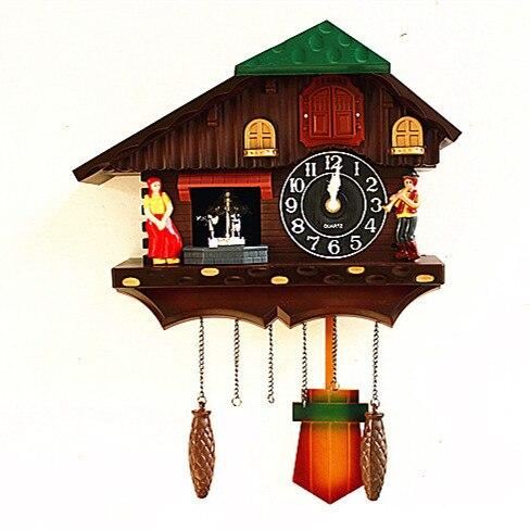 Nouvelle Europe coucou horloge bois horloge mur ferme décor meilleure vente 2018 produits idées cadeaux antique mur montres