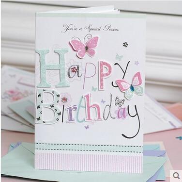 8setlot Funny Happy Birthday Cardshandmade Birthday Greeting