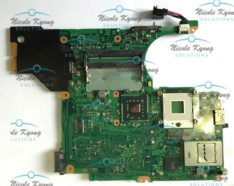 FG6IN A5A002520010A GM45 intergrated MotherBoard SYSTEM BOARD for Toshiba Tecra M10 A10 series laptop цена