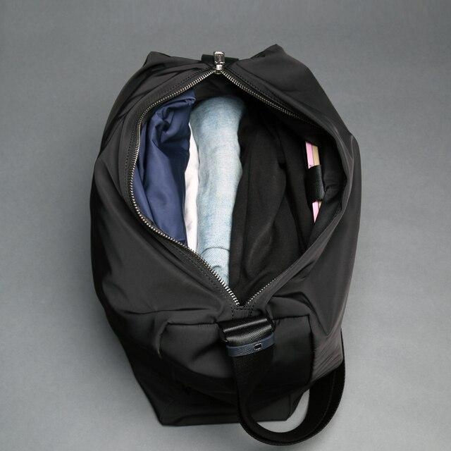 Nowi mężczyźni Messenger torby moda duża pojemność torby na ramię dobry dotyk czarny niebieski Crossbody torby wysokiej klasy torby męskie (XW9906)