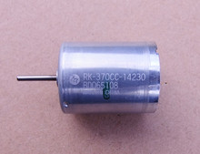 8500RPM to 20700 RPM Original Assembled Bearing 370 Carbon Brush Motor Large Torque 6-30V DC Motor RK-370CC-14230