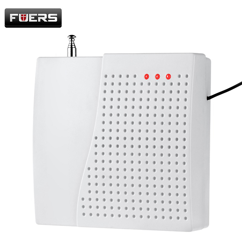 Fuers TD Wireless Signal Repeater Transmitter Enhance Sensros Signal 433MHz Extender For Our Home Security Burglar Alarm System