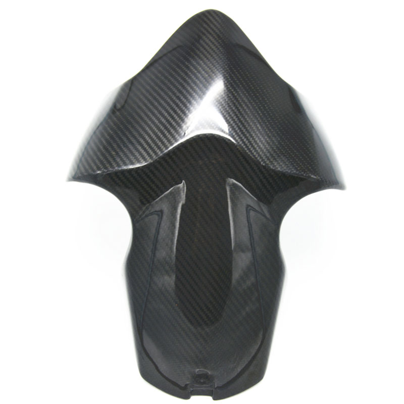 Free shipping Carbon Fiber Front Fender Mudguard for DUCATI Monster 821 1200 S Stripe 2014 2015 2016
