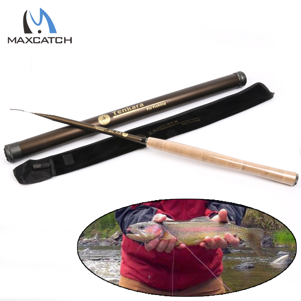 Maximumcatch 13FT Tenkara Fly Fishing Rod 7:3 Action 9 Segments Super Light Traditional  Tenkara Fly Rod maximumcatch 13ft tenkara fly fishing rod 7 3 action 9 segments super light traditional tenkara fly rod