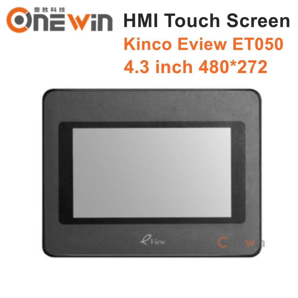 Kinco Eview ET050 HMI Touch Screen 4.3 480*272 Human Machine Interface pws6700t n hitech hmi touch screen human machine interface new in box