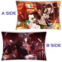 Anime Danganronpa Dangan Ronpa Celestia Ludenbeck Throw Cusion Pillow Case Cover 40x60cm