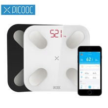 PICOOC Mi Ni Smart Weighing Scale Weights Scales Digital Body Fat Scales  Bathroom Scales Floor Electronic ...