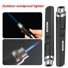 1 pièces Portable extérieur Jet flamme Butane gaz recharge briquet soudage torche stylo P0.11