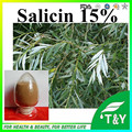100% Natural aspirin powder, white willow bark extract, salicin 15%