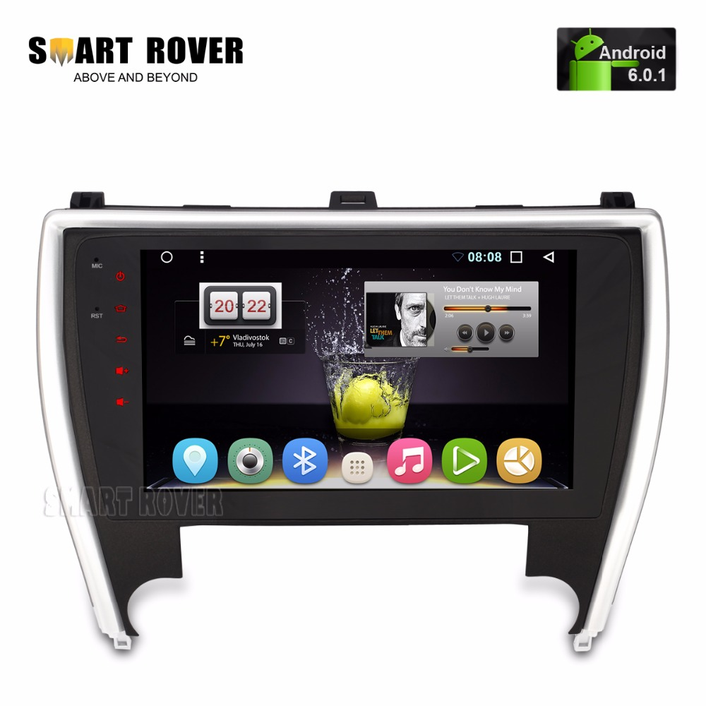 10 1 hd 1024x600 android car stereo for toyota camry 2015 2016 2017 aut. Black Bedroom Furniture Sets. Home Design Ideas