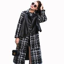 Real Genuine Leather Jacket Sheepskin Coat Autumn Winter Jacket Women Clothes 2018 Korean 100% Double-sided Woolen Coat ZT1477