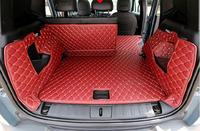 Full Rear Trunk Tray Liner Cargo Mat Floor Protector foot pad mats for 16 17 18 Jeep Renegade 2016 2017 2018 (6colors)
