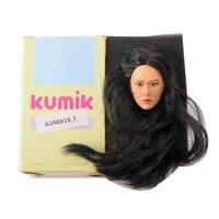 KUMIK 16 Popular 1/6 Action figure head 1/6 Head Female For 12 Female Action Figure Women Action Model Sculpt Female